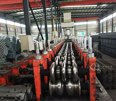 Thrie Beam Guardrail Forming Line