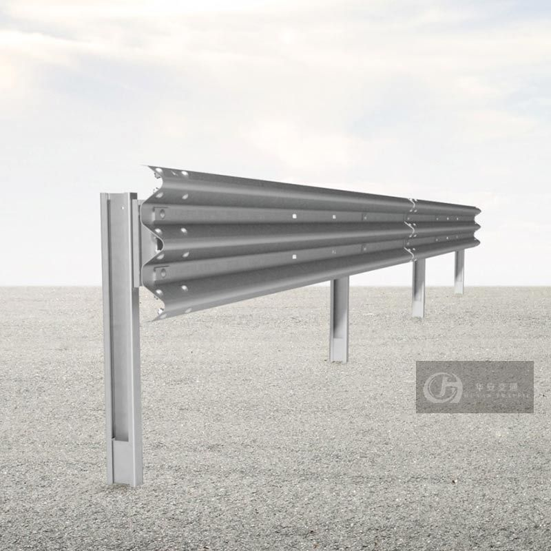 EN1317-2 H2 W4 Highway Road Crash Barrier Guardrails