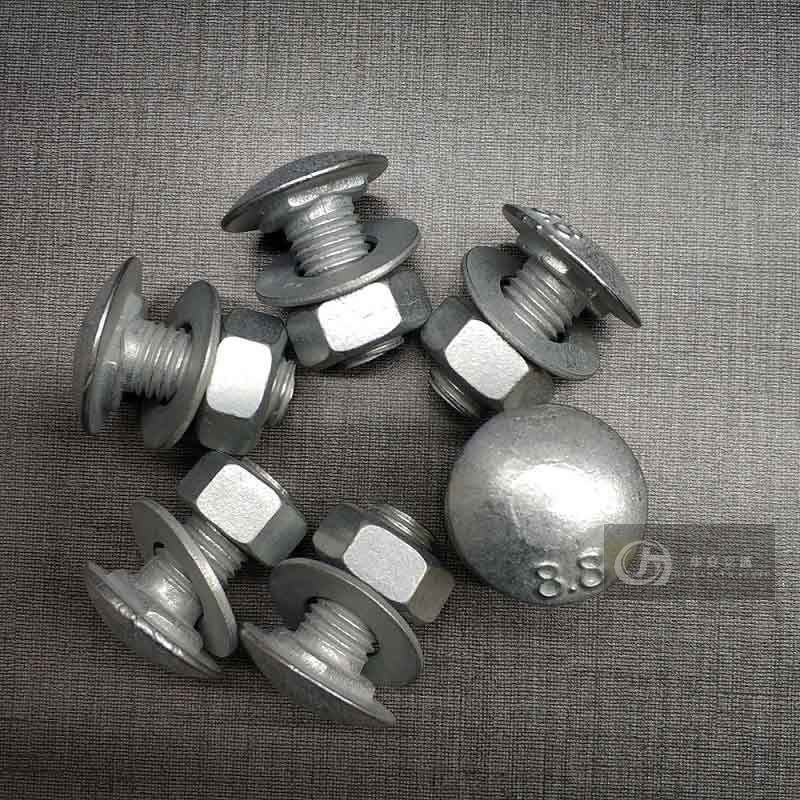 High Strength Guardrail Bolts and Nuts