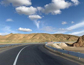 Shandong Huaan Participate in the Construction of Qinghai Highway Project