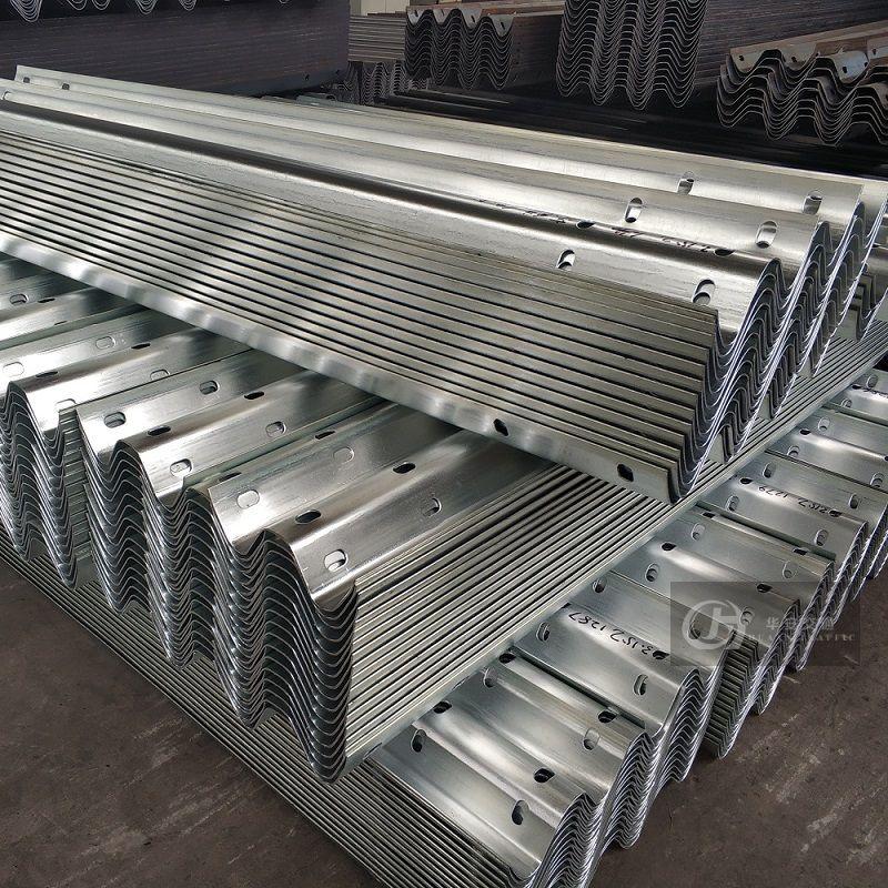 W Beam Class A 2.67mm Basemetal Crash Barrier Guardrails