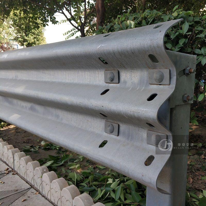 Thrie beam class A 2.67mm basemetal crash barrier guardrail
