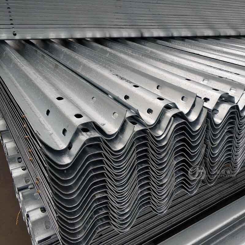W beam 3mm thickness base metal crash barrier guardrail