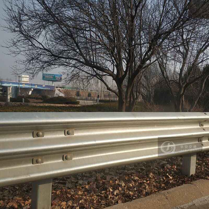 Thrie beam 3mm thickness base metal crash barrier guardrail