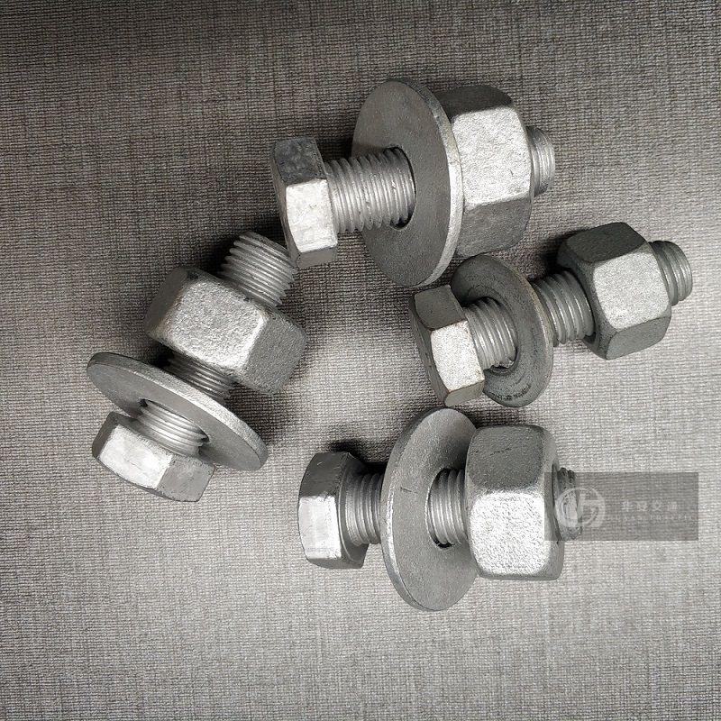 High strength 8.8 4.8 class guardrail post splice bolts