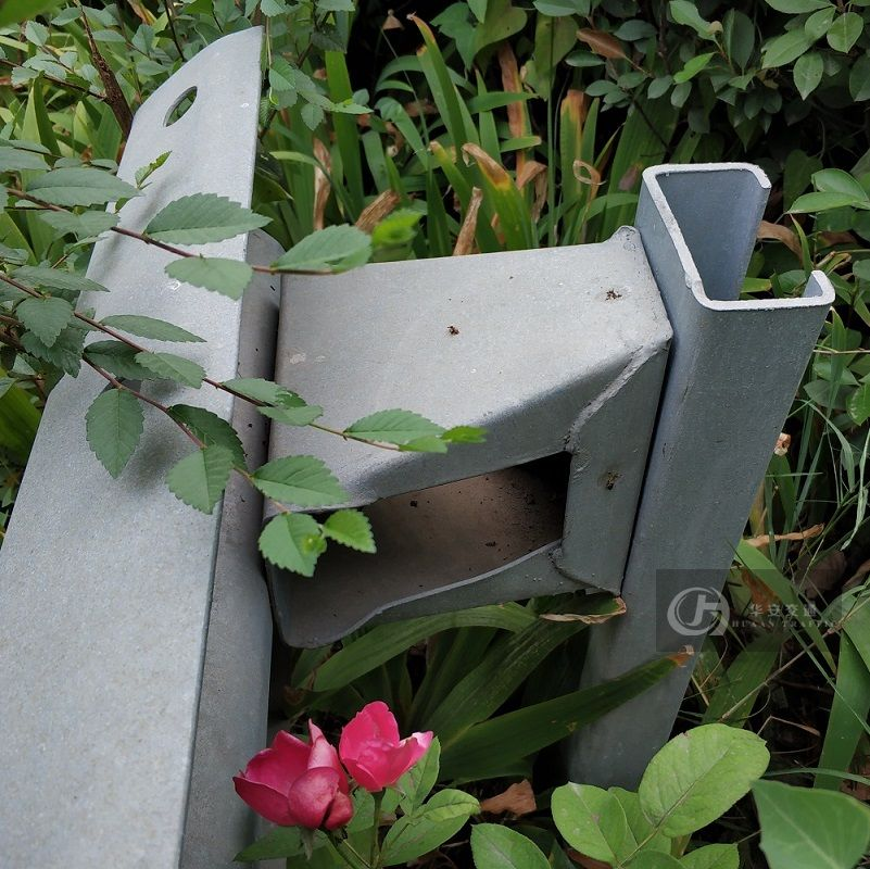 C steel highway guardrail traffic crash barrier post