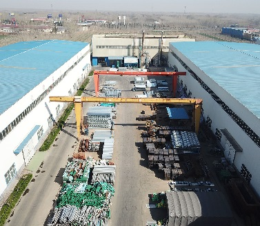 Guardrail Material Yard