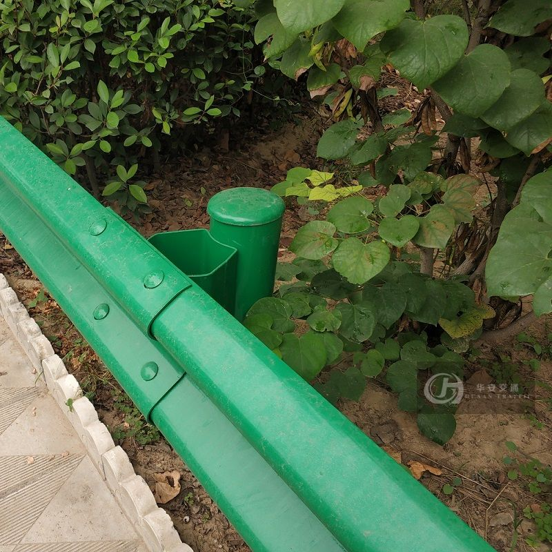 China national standard GB plastic painted crash barrier guardrail beams