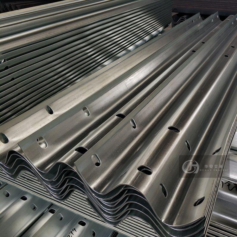 China huaan galvanized w beam guardrails