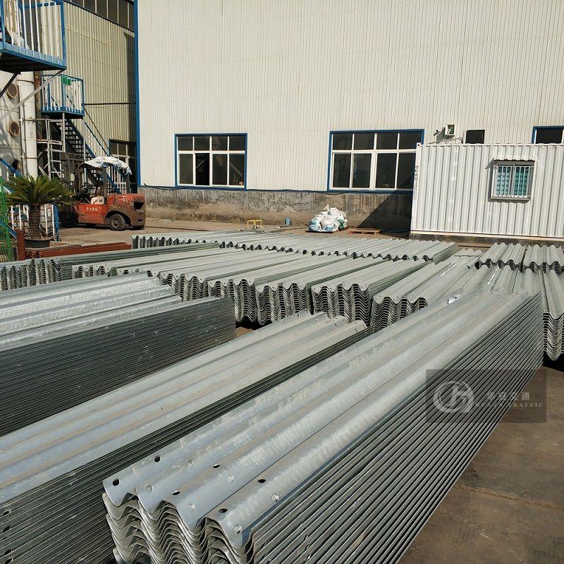 AASHTO M180 thrie beam 3w beam guardrails
